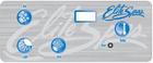 Elite Spa 4 Button Overlay 107859