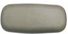 26-0500-85 gray Garden Spa pillow