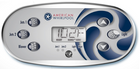 American Whirlpool 6 Button Overlay 110372