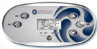 American Whirlpool 5 Button Overlay 110371