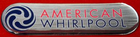 American Whirlpool Filter Lid logo,Logo Dome,110359