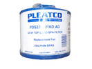 Pleatco PDS22-wPAD Dolphin Spa Spa Filter  6CH-22