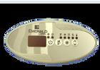 Emerald Spa IN.K259 4 Button Control Panel w Blower Emerald Overlay 51005200