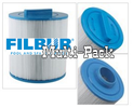 Filbur 4-Pack bulk filters FC-0418 Spa Filter  PMA40-F2M