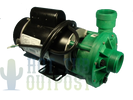 DreamMaker 2HP 2 Speed Deluxe Pump 120V Green