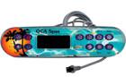 52797 Balboa control panel with QCA Spas overlay