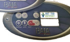 Baja Spas 2 Pump Overlay Graphic 7 Buttons