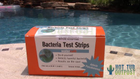 Bacteria test strips WaterSafe