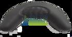 Artesian Pillow Island Neck Charcoal Gray 26-1304-85