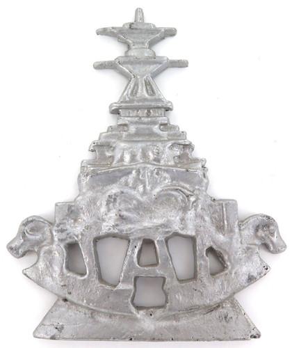 Rare early 1900s Royal Australian Navy RAN largish cast metal plaque