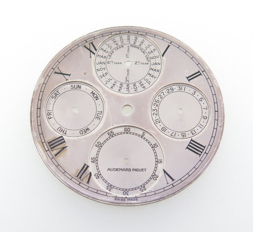 Extremely rare vintage Audemars Piguet 37mm dial.