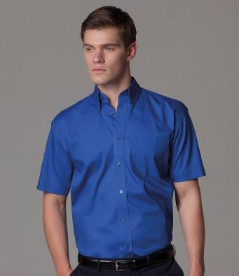 Short Sleeve Oxford Shirt Kustom Kit K109