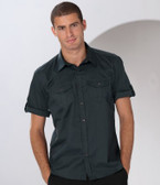 Short Sleeve Twill Roll Shirt Russell Collection 919M