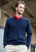 Henbury Acrylic V Neck Sweater - H760