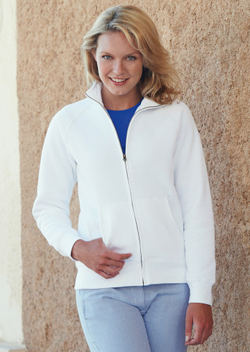 Fruit of the Loom Lady Fit Sweat Jacket SS79