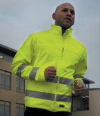 Result High Viz Soft Shell Jacket RS117