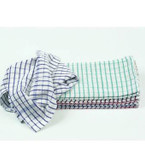 Tea Towel in Check Terry Towelling DW74 (Pack of 10)