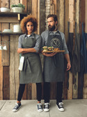 Unisex bib apron - No Pocket