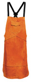 Leather Welding Apron - Premium quality welding apron made of split cowhide leather.
