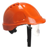 Portwest Endurance Visor Helmet Orange