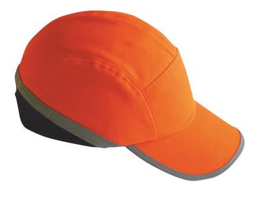 Hi Vis Bump Cap Orange