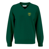 Lindley Junior V Neck Sweatshirt - Embroidered & Delivered to School
