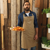 Premier Cotton Chino Bib Apron - PR132