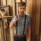 Premier Mulligan Check Long Sleeve Shirt - PR250
