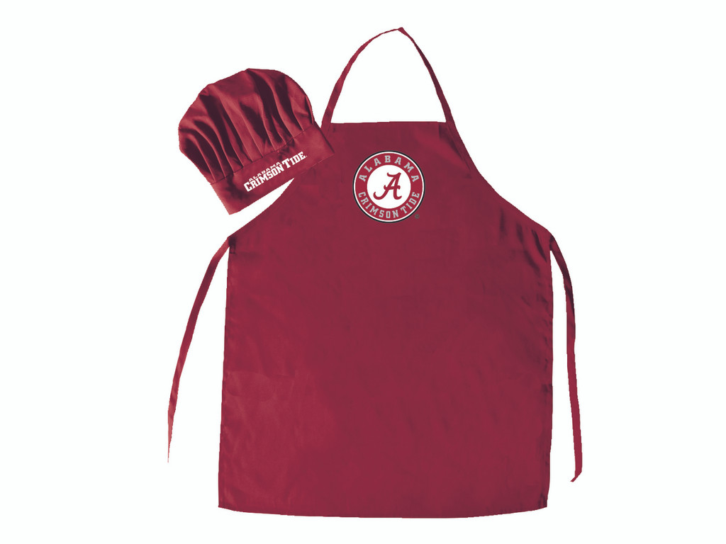 Alabama Crimson Tide Apron and Chef Hat Set