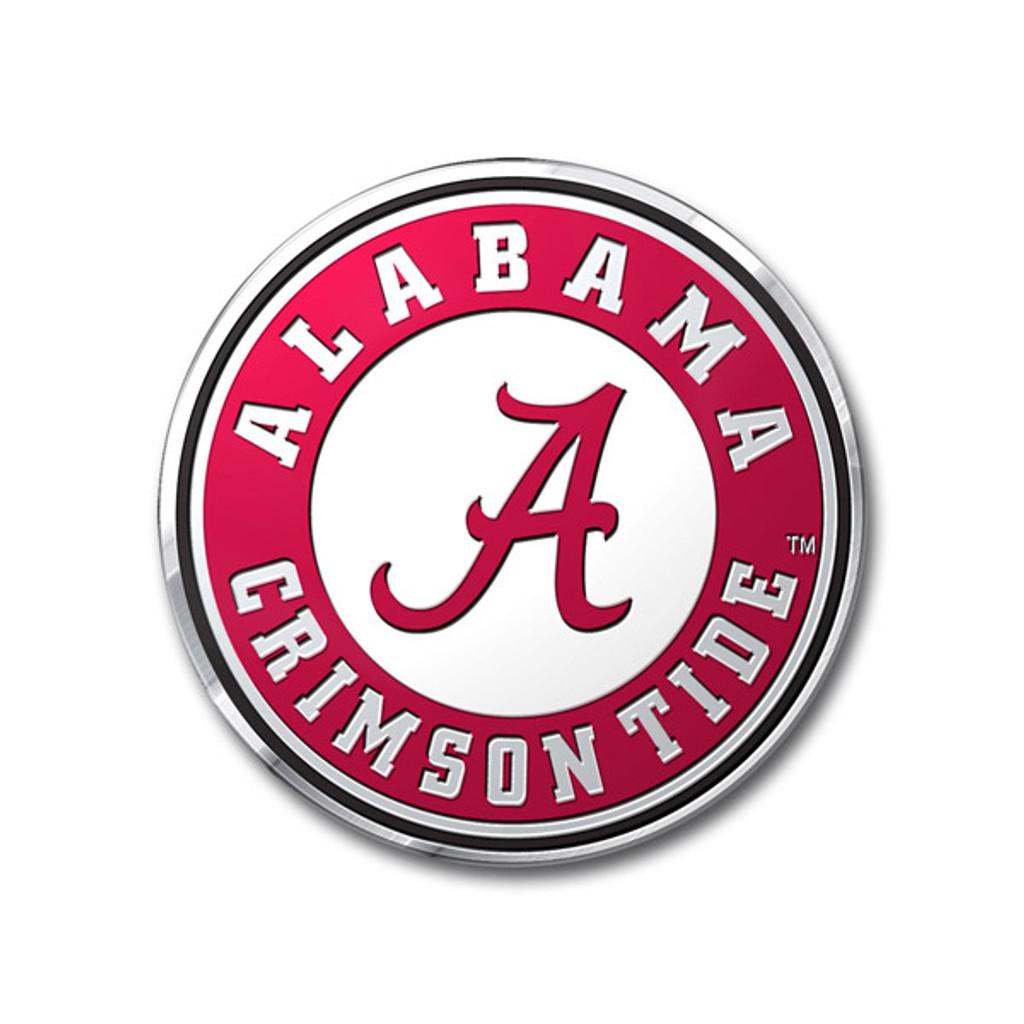 Alabama Crimson Tide Auto Emblem - Color