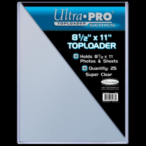 """Top Loader - 8-1/2"""" x 11"""" (25 per pack)"""