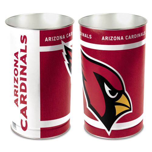 "Arizona Cardinals 15"" Waste Basket"