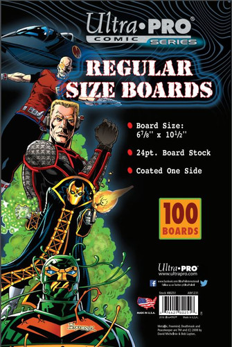 "Boards - Regular 6 7/8"" x 10 1/2"" 100pk"