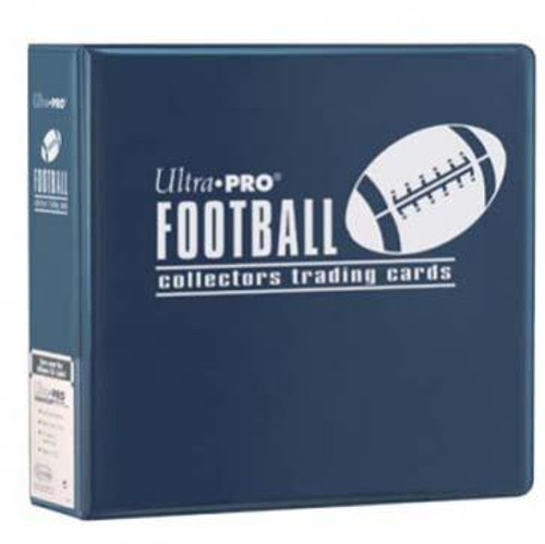 "3"" Football Album - Navy - Ultra Pro"