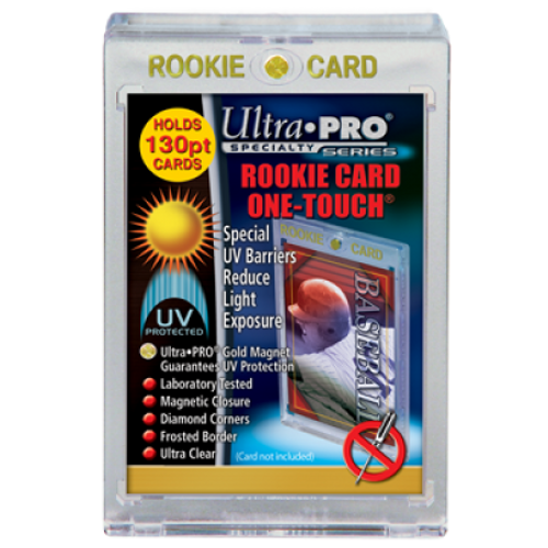 One Touch UV Card Holder with Magnet Closure-130pt Rookie