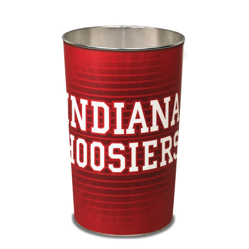 "Indiana Hoosiers 15"" Waste Basket"