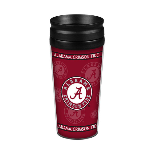 Alabama Crimson Tide 14oz. Full Wrap Travel Mug