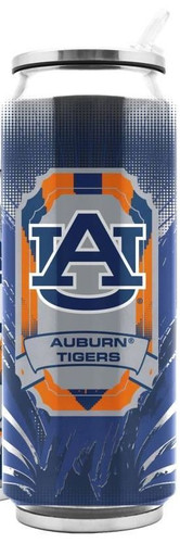 Auburn Tigers Stainless Steel Thermo Can - 16.9 ounces