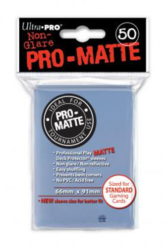 Deck Protector - Pro Matte - Clear (12 packs of 50)