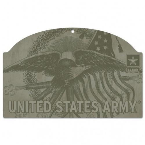 US Army Eagle 11x17 Wood Sign