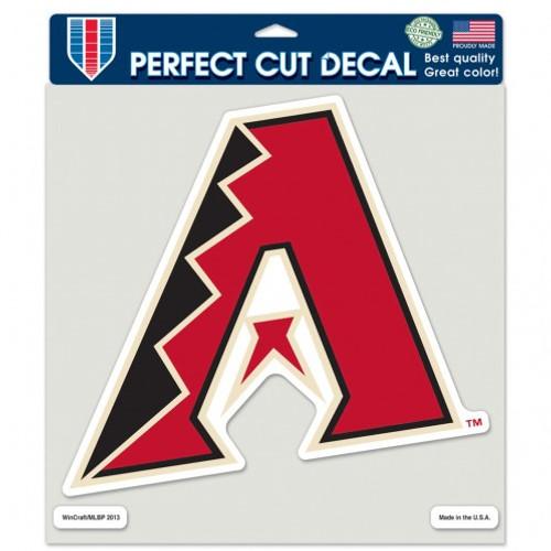 Arizona Diamondbacks Decal 8x8 Die Cut Color