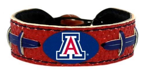 Arizona Wildcats Team Color Football Bracelet