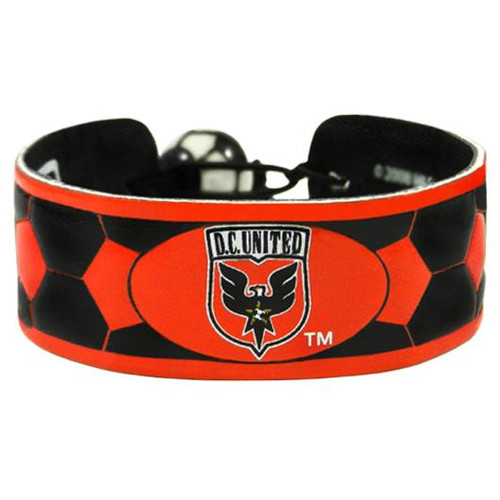 DC United Team Color Soccer Bracelet