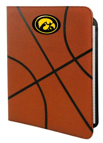 Iowa Hawkeyes Classic Basketball Portfolio - 8.5 in x 11 in