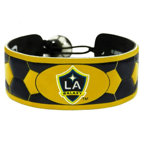 Los Angeles Galaxy Team Color Soccer Bracelet