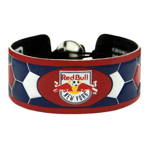 New York Red Bulls Team Color Soccer Bracelet