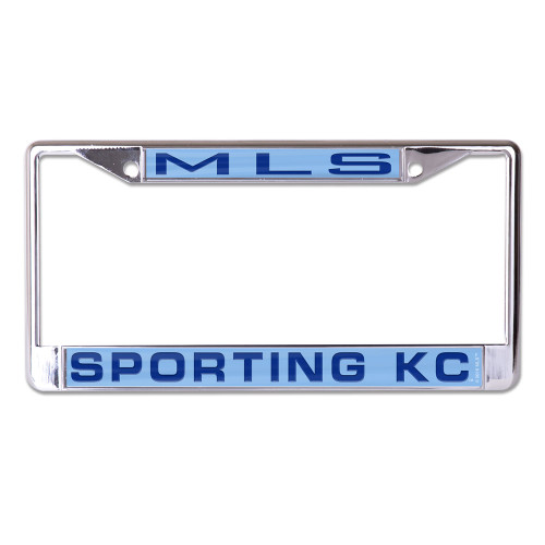 Sporting Kansas City License Plate Frame - Inlaid