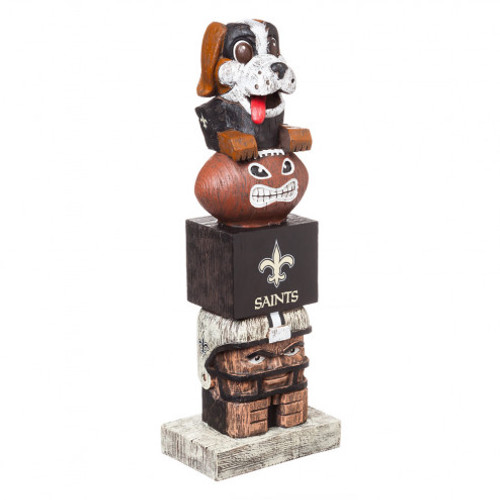 New Orleans Saints Tiki Totem