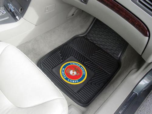 US Marines Car Mats - Heavy Duty 2-Piece Vinyl