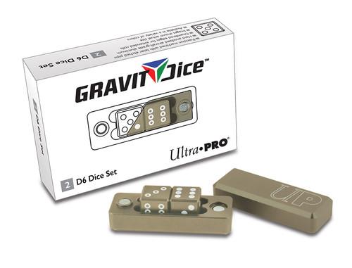 Ultra Pro Dice - D6 2pc Set - Desert